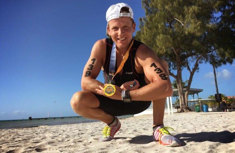 Marius Jovaisa, fotógrafo y triatleta. Foto: Blog Maratonolaukas