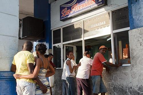 The Las Avenidas cafe.