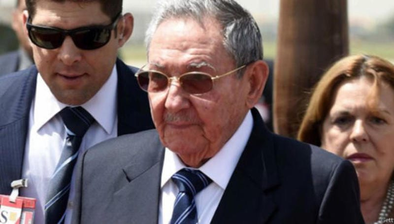 Raul Castro arrived today in New York. Photo/archivo: cubadebate.cu