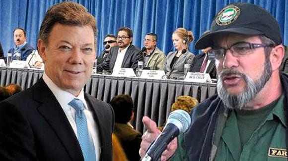 Santos and Timochenko are in Cuba for what could be a major advance in the resolution of the decades long Colombian conflict. Photos: cubadebate.cu