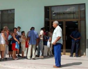 Cuban bank. Photo: Caridad