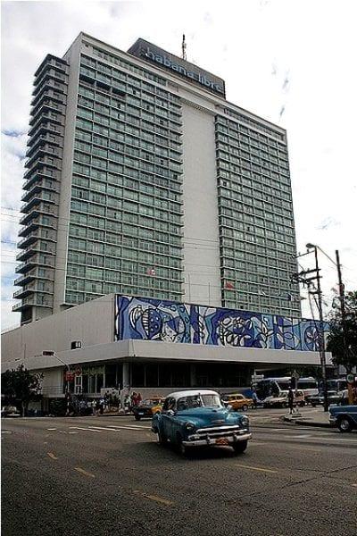 The Habana LIbre Hotel, foremerly the Havana Hilton.