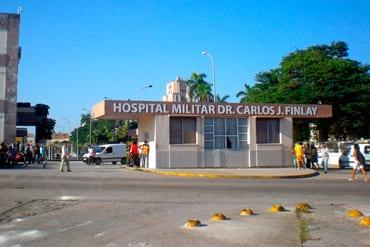 The military hospital in Marianao, Havana. Foto: Jimmy Roque Martínez