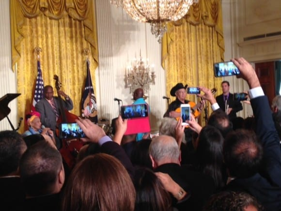 Buena Vista Social Club in the White House 15-10-2015. Foto: embajada de Cuba