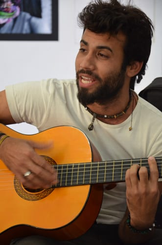 Santiago de Cuba folk musician Frank Rodriguez