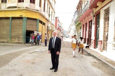Alejandro Mayorkas in Havana. Photo: Homeland Security