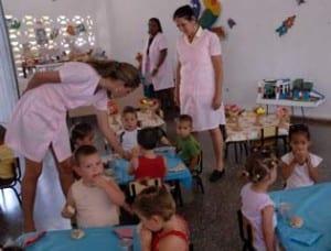 Circulo infantil cubano.