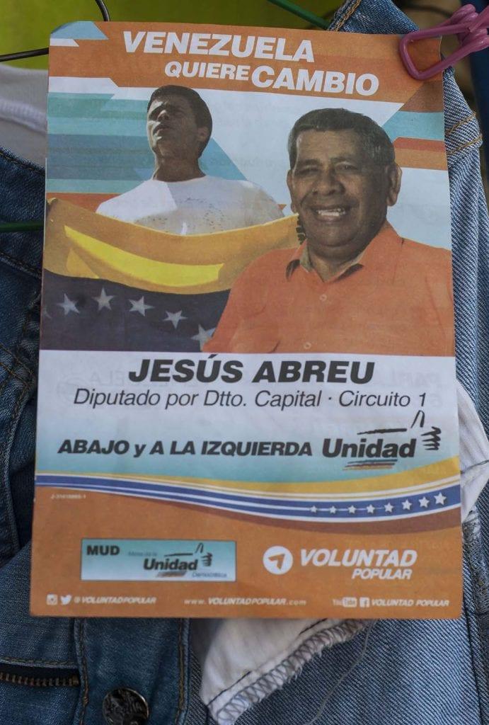 caracas, venezuela campaña electoral 2015