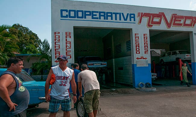Most of Cuba's existing cooperatives have not been newly established but are restructured State companies. Photo: Raquel Perez Diaz