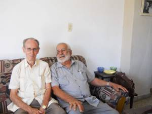 Elio Delgado Legon and Julio Chaviano Fundora