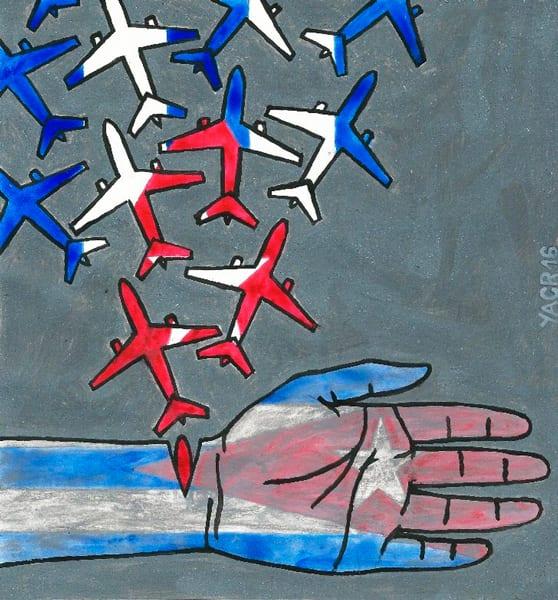 Hemorrhage. Illustration by Yasser Castellanos.