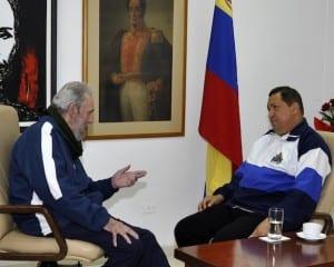 Fidel Castro was the chief advisor of Hugo Chavez. Foto: cubadebate.cu
