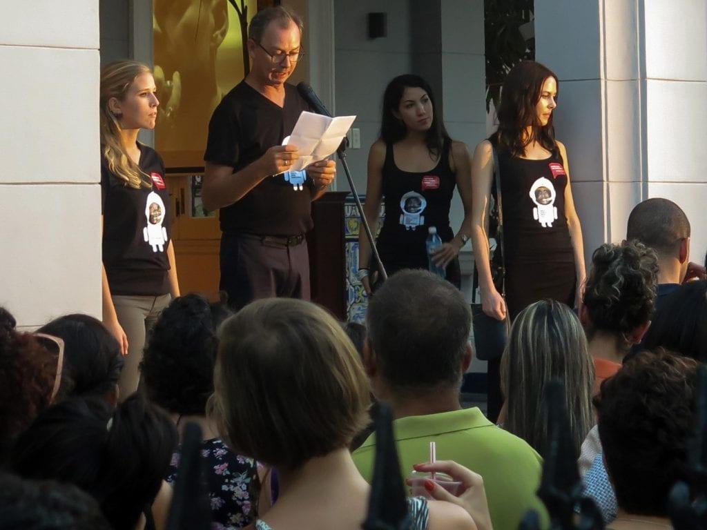 The organizers.