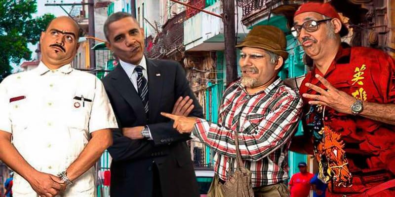 Obama in Havana.