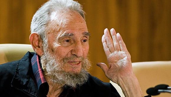 Fidel Castro back in 2012. Photo: Roberto Chile/cubadebate
