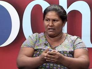 Francisca Ramírez defends the campesino movement's independence.