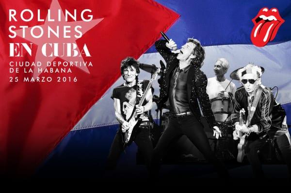 Rolling Stones concert poster
