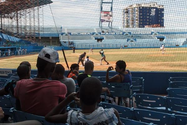 The playoffs begin four days after the Tampa Bay - Cuba game. Photo: Juan Suarez