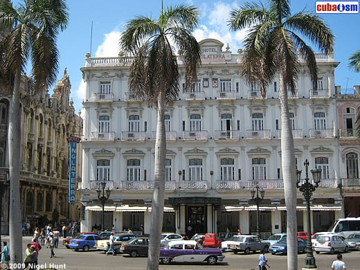The Hotel Inglaterra is one of the three hotels to be run by Starwood.