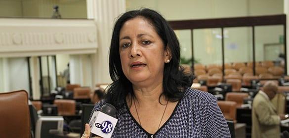 Alba Palacios, Secretary of the National Assembly. File photo: asamblea.gob.ni