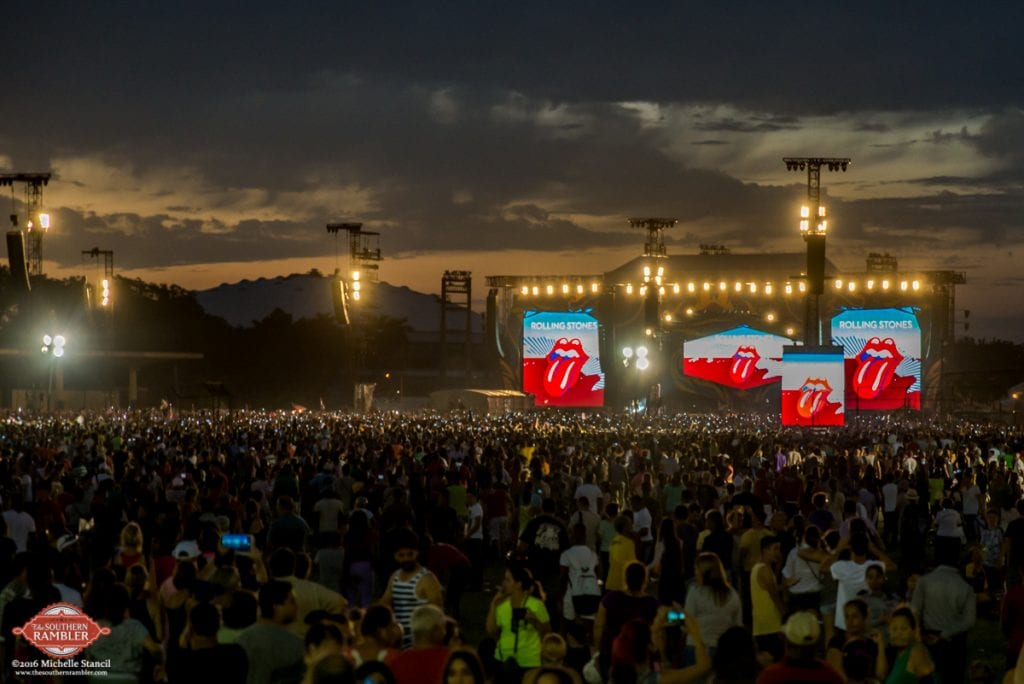 Over 500,000 attended the Rolling Stones' free concert in Havana on March 25 (Photo: Michelle Stancil)