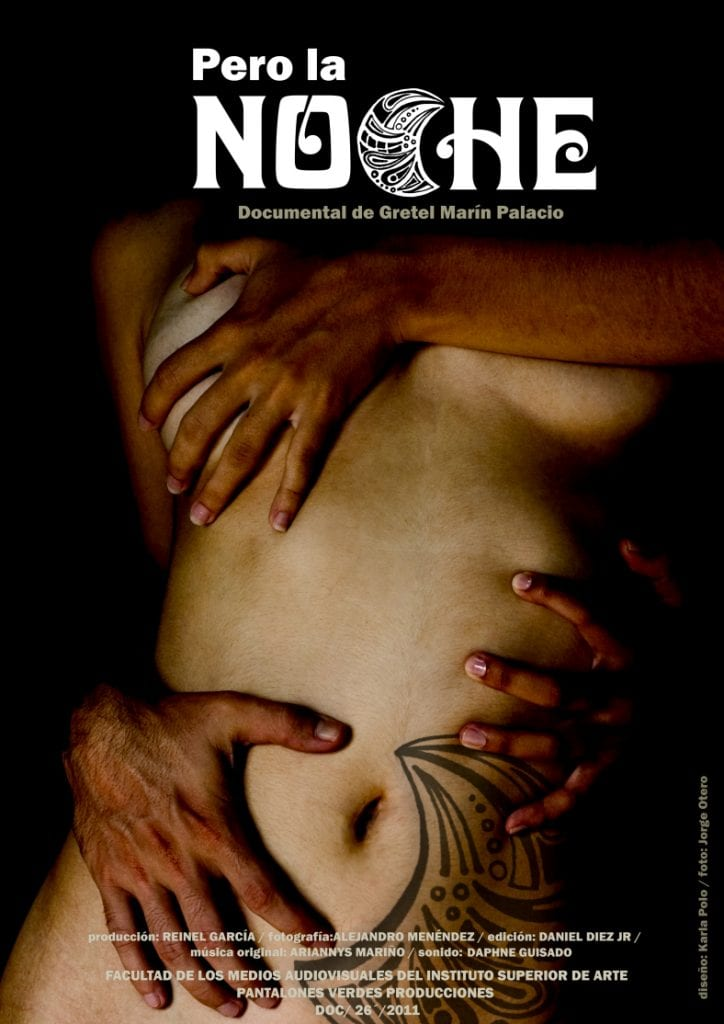 Poster for the documentary by Gretel Marin Palacio.