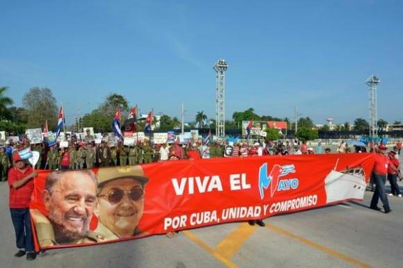 May Day in Bayamo, Granma.