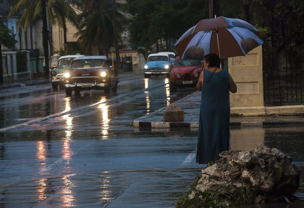 Rainy day in Havana. Photo: Caridad
