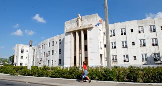 The Maternidad Obrera Hospital in Marianao.