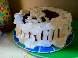 Panatela for a birthday cake.