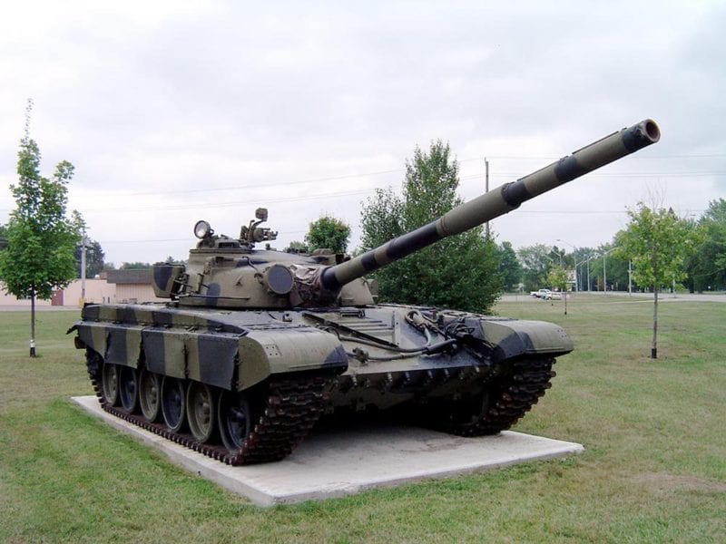 A Russian T-72B1 tank. Photo: Wikipedia