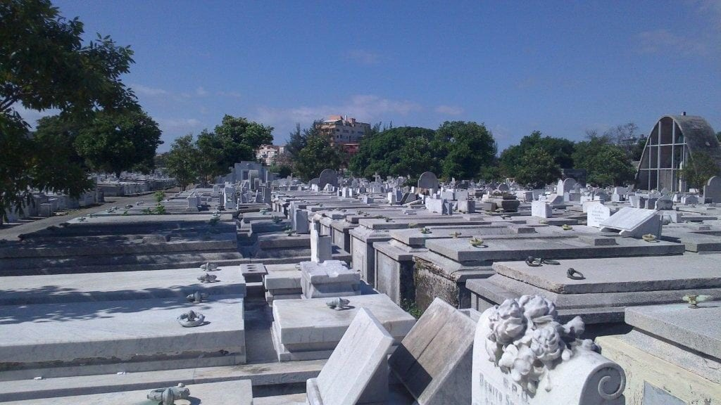 Tombs at the Colon Cemetery.