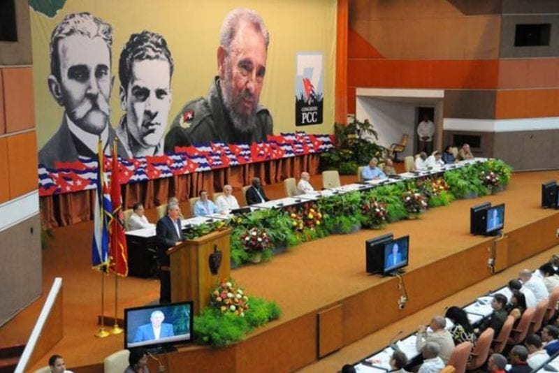 The 7th Congress of the Cuban Communist Party.