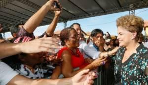 President Dilma Rousseff during happier times. Photo: telesurtv.net