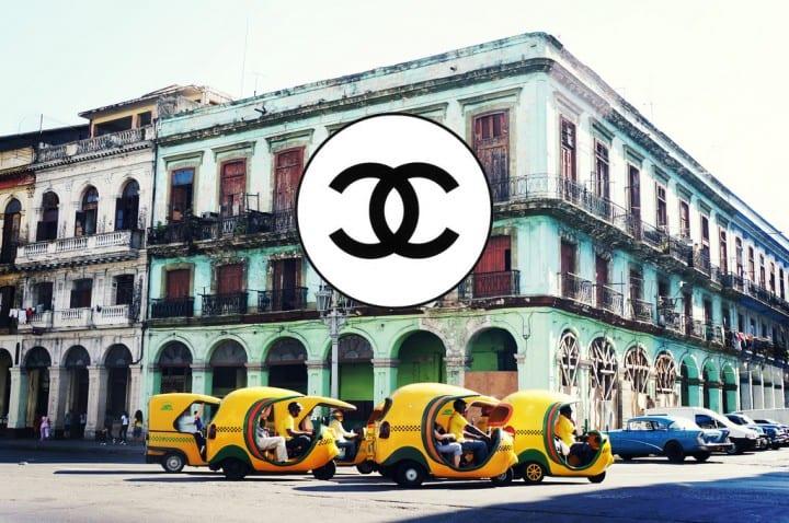 Chanel in Havana, Cuba. Foto: Style Blog
