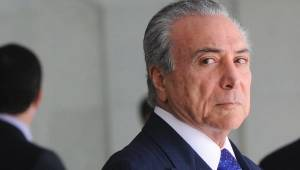 The new Brazilian president is Michel Temer.