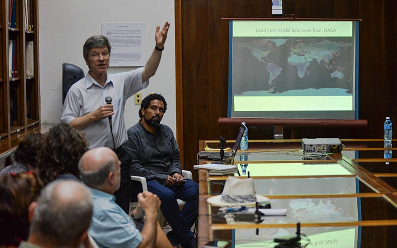 Jeffrey Sachs. Photo: Raquel Perez Diaz