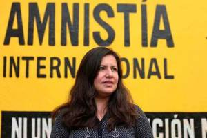 Erika Guevara Rosas, the Amnesty International director for the Americas. Foto: elpitazo.com