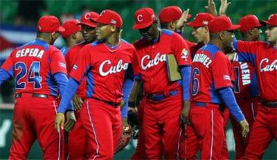 Team Cuba at the 2013 World Baseball Classic.