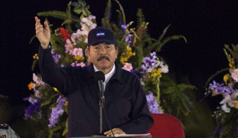 Daniel Ortega. Foto: Mario López/EFE