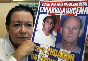 Campaign poster asking that Eduardo Arocena be freed. http://la-visita-de-miami.blogspot.com