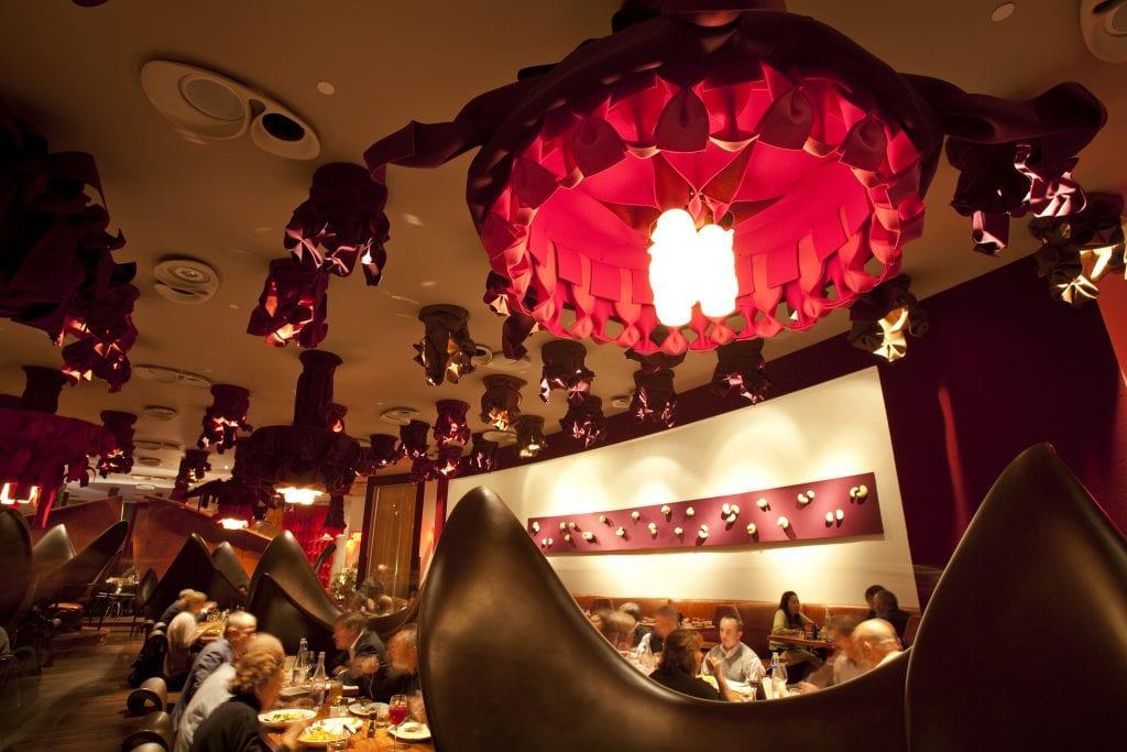 One of Michael Cordúa's restaurants in Houston. Photos courtesy of Karl Heim
