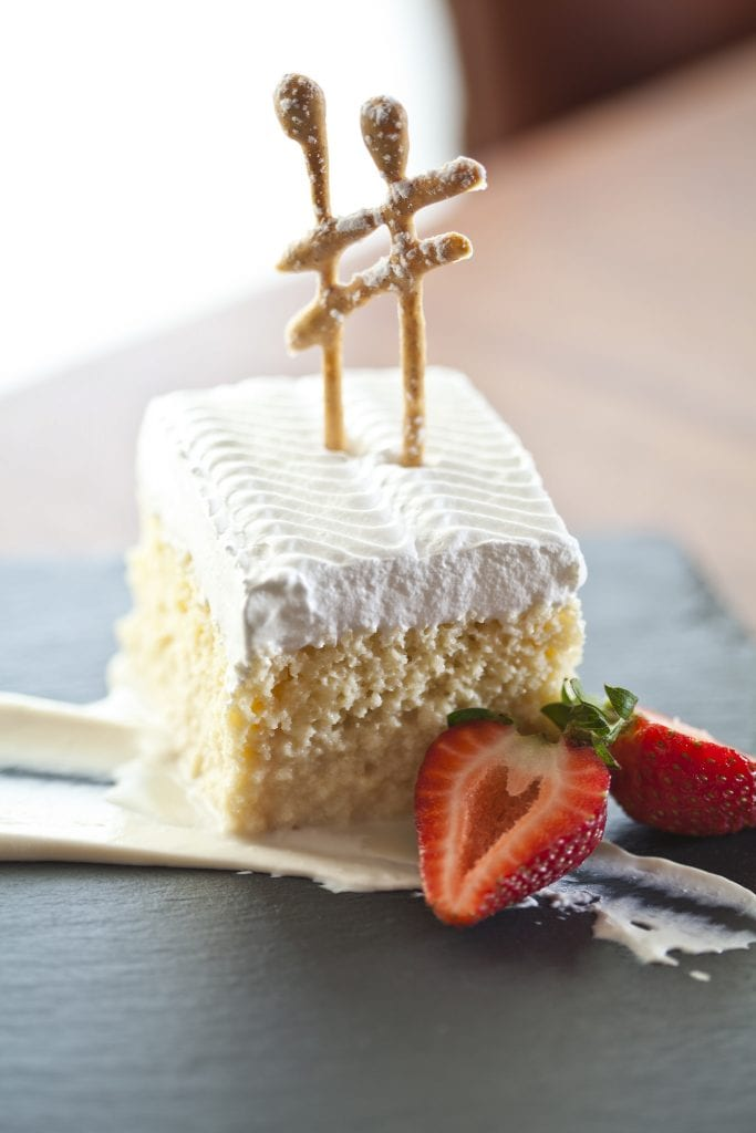 """The """"tres leches"""" [three milk] cakes of Michael Cordúa have won praise from both diners and culinary experts."""
