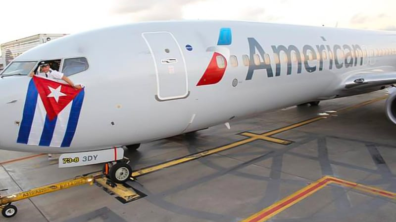 American airlines Cuba