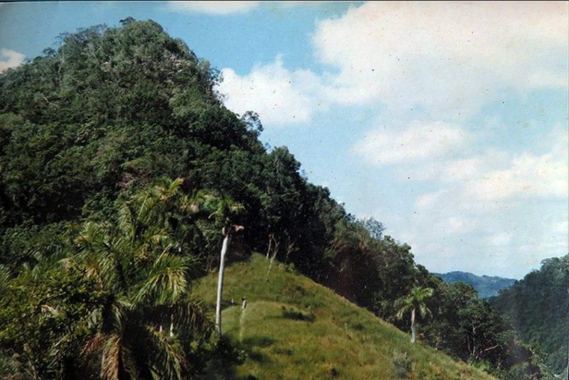The El Brujo Mendez hill.