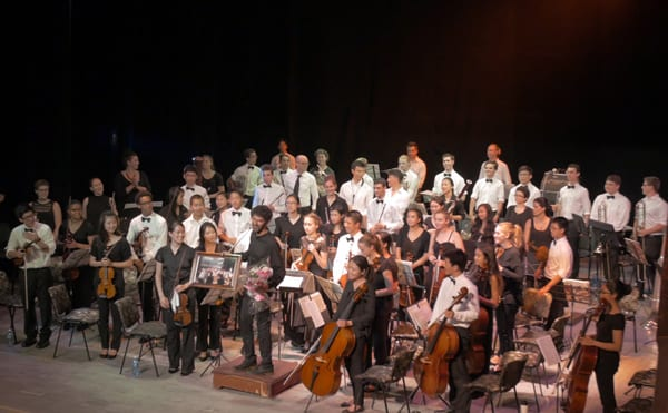 The Oakland Symphony Youth Orchestra in Havana