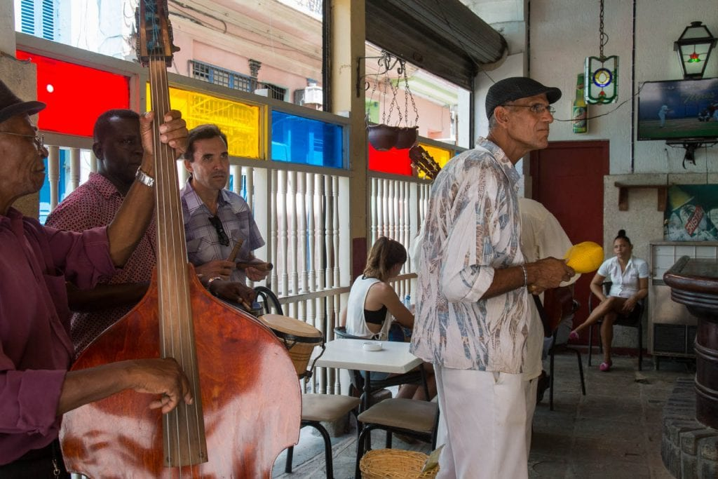 Musicians in Havana. Photo: Juan Suarez