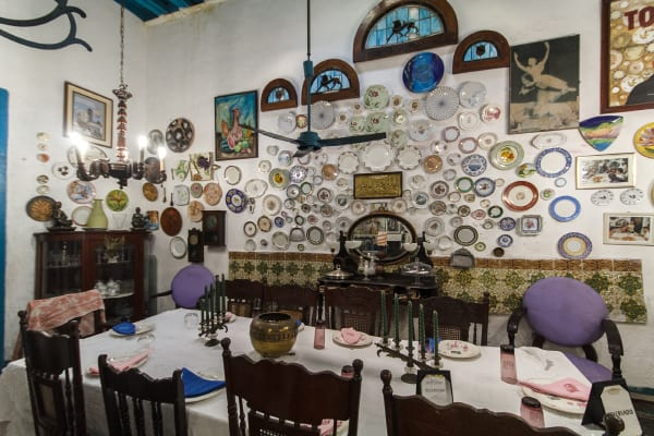 The private Notre Dame des Bijoux restaurant in Centro Habana. Photo: juan Suarez