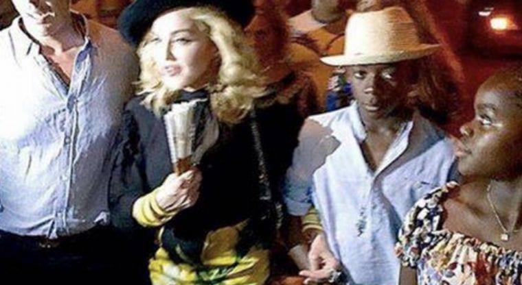 Madonna in Havana. Photo: debate.mx.com