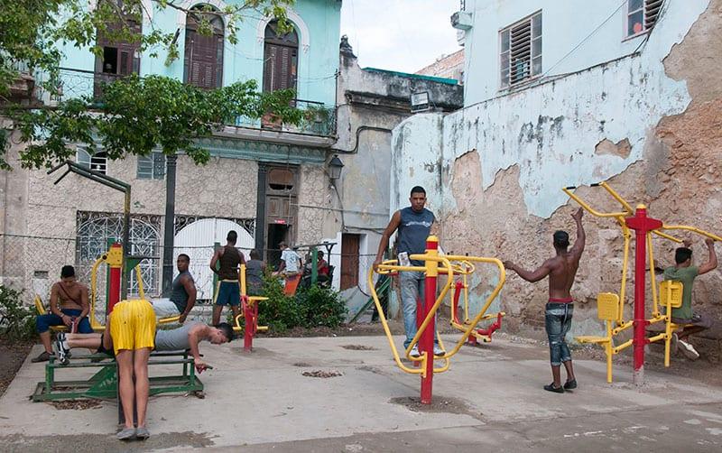 Durante los últimos años ha habido iniciativas para promover el deporte de masas. Foto: Raquel Pérez Díaz